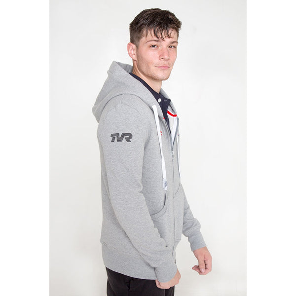 Typhon  - Men's TVR Racing Fitted Hoodie - croftonandhall