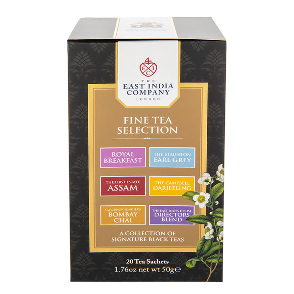 Fine Tea Selection 20 Bags - croftonandhall