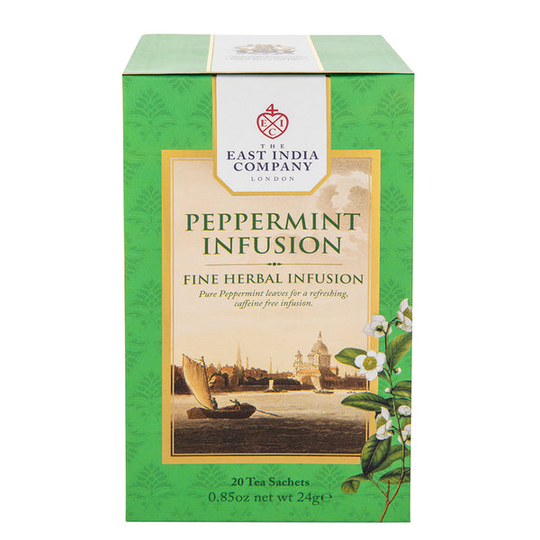 English Peppermint Infusions - 20 Bags - croftonandhall