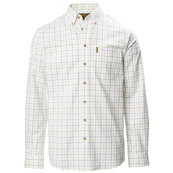 Classic Button Down Cotton Twill Checked Shirt - croftonandhall