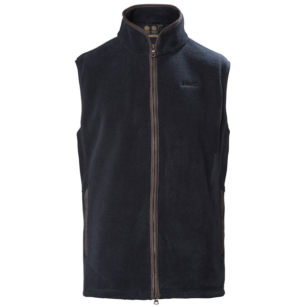 Glemsford Polartec Fleece Gilet in Navy - croftonandhall