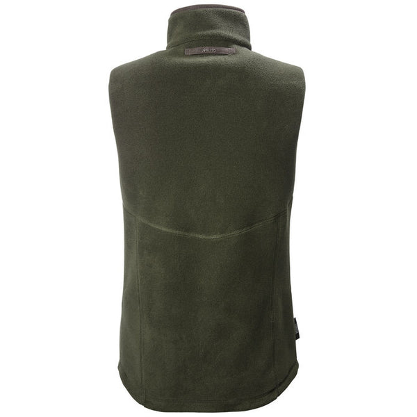 Women's Glemsford Polartec Gilet in Dark Olive - Crofton & Hall