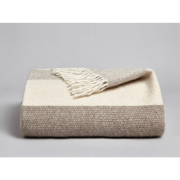 Genjin Luxury Cashmere Blanket Throw - croftonandhall