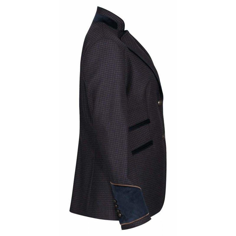 Chelsea Tweed Jacket in Navy - croftonandhall