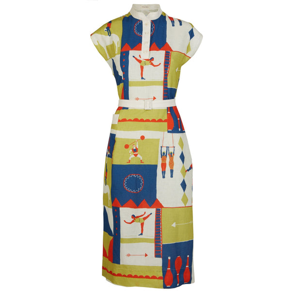 CYD - CIRCUS SPORTS DRESS | COTTON - LINEN BLEND - croftonandhall