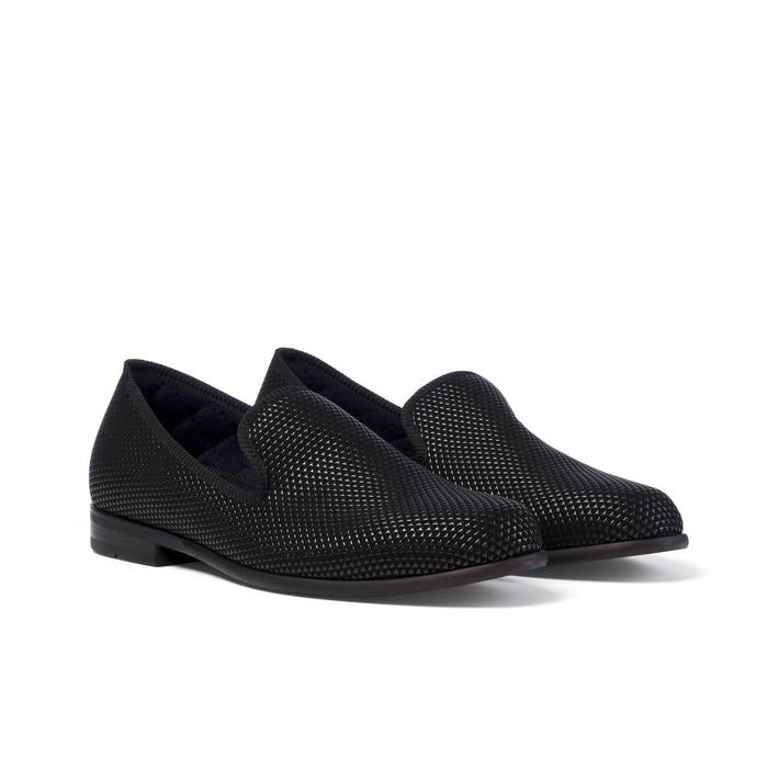 Pyramid Loafer in Black - croftonandhall