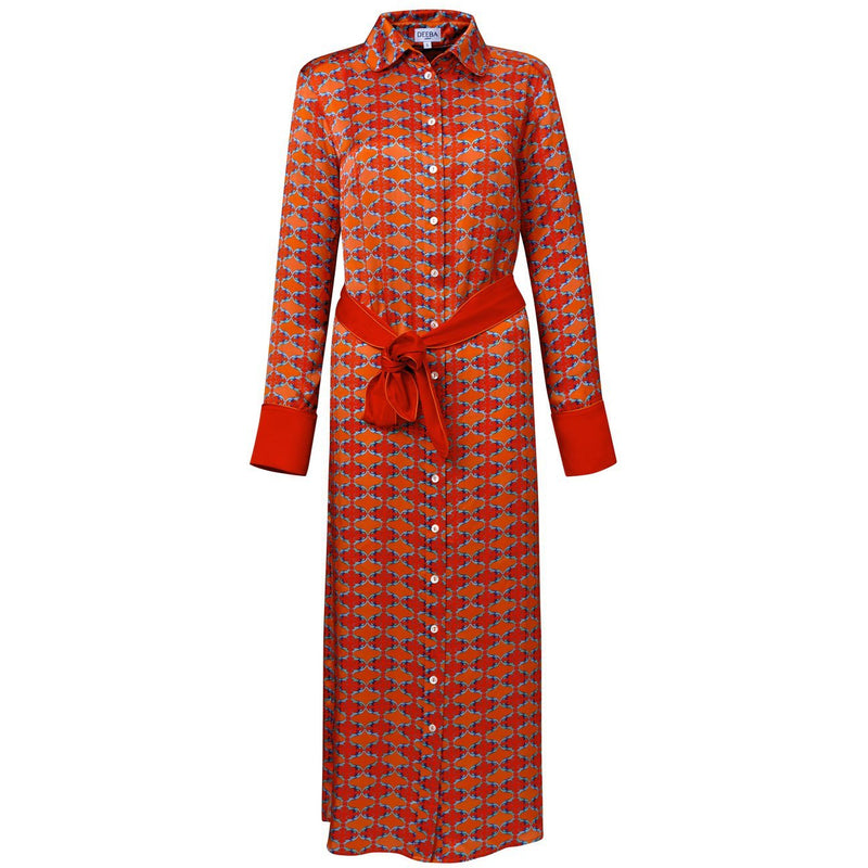 Rita Sofia Silk Shirt Dress - croftonandhall