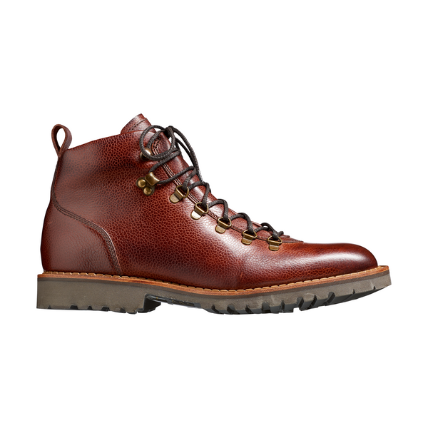 Glencoe Hiker Boot in Cherry Grain - croftonandhall