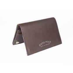 Travel Wallet - Brown Leather Elephants - croftonandhall