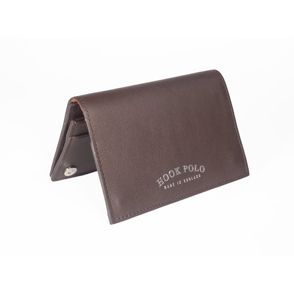 Travel Wallet - Brown Leather Crocodiles - croftonandhall
