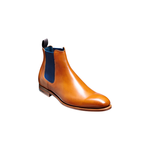 Hopper Cedar Calf/Navy Elastic - Crofton & Hall