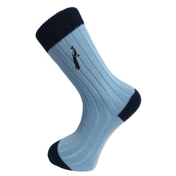 The Fredrick in Sky Blue/Navy - croftonandhall