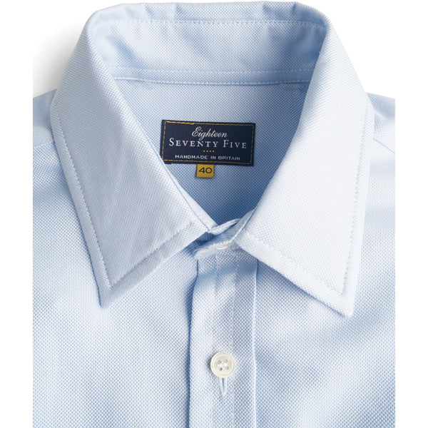 Blue Cotton Oxford Shirt - croftonandhall