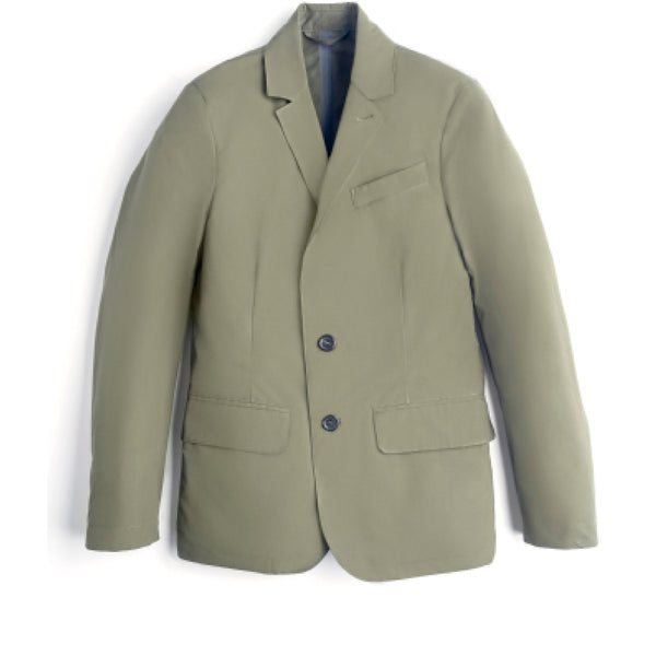 Ventile Travel Jacket in Dark Olive - croftonandhall