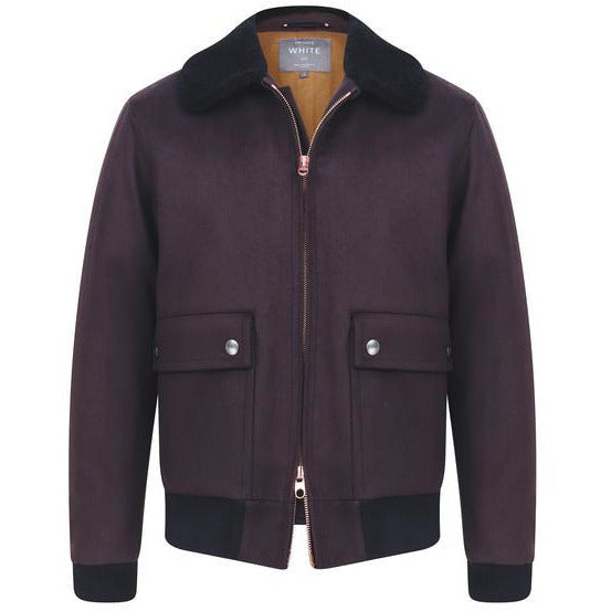 The Flight Jacket in Chocolate - croftonandhall