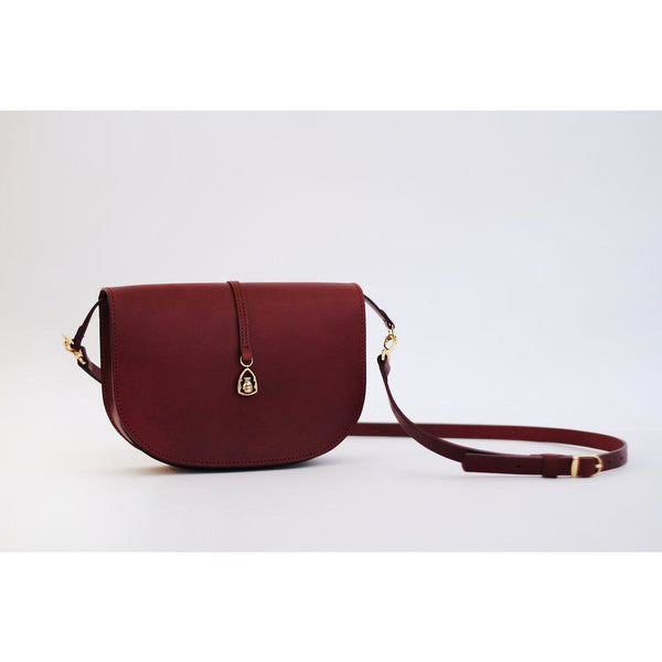 The Boxer Handbag in Oxbridge Leather - croftonandhall