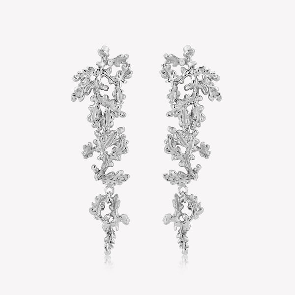 Woodland Drop Earrings Studs - RACHEL ELIZABETH WOOD - croftonandhall