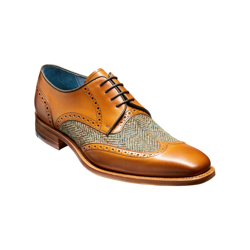 Jackson in Cedar Calf/Green Tweed - croftonandhall