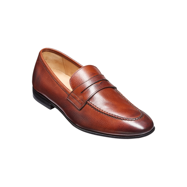 Ledley Loafer in Cherry Grain - croftonandhall