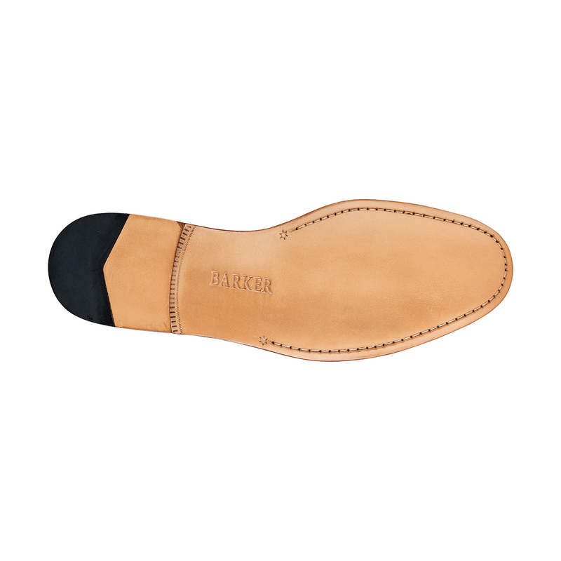 Ledley Loafer in Black Deerskin - croftonandhall