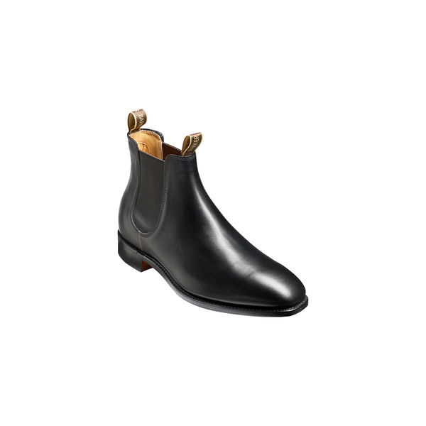 Mansfield Black Calf Chelsea Boot - Crofton & Hall