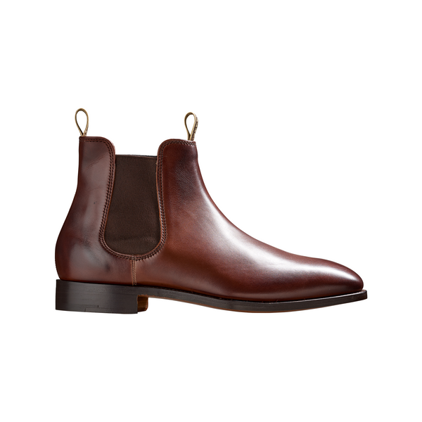 Mansfield Brown Walnut Calf Chelsea Boot - croftonandhall