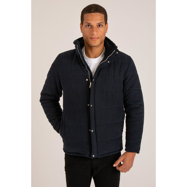 Harry - Men's Luxury Quilted Coat - croftonandhall