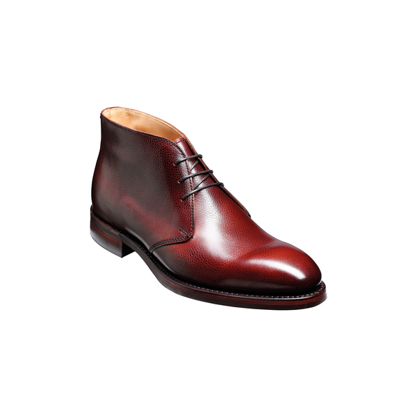 Orkney Boot in Cherry Grain - Crofton & Hall