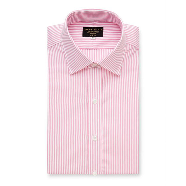Pink Bengal Stripe Cotton Shirt - croftonandhall
