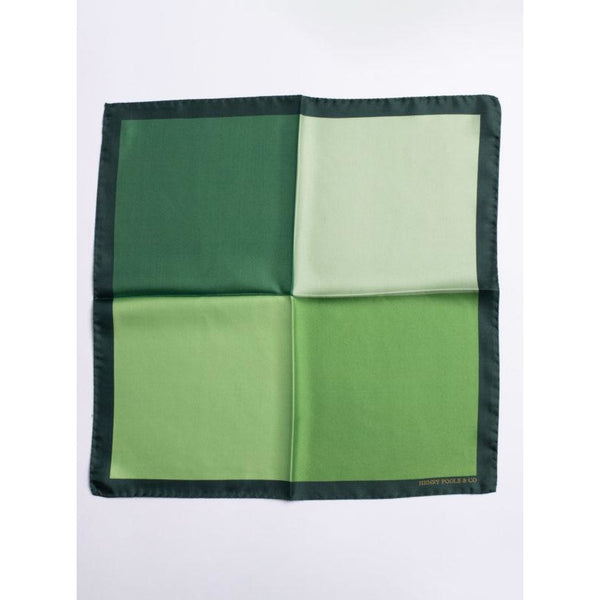 Green Silk Pocket Square - croftonandhall