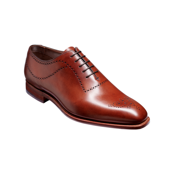 Plymouth Oxford in Chestnut Calf - croftonandhall