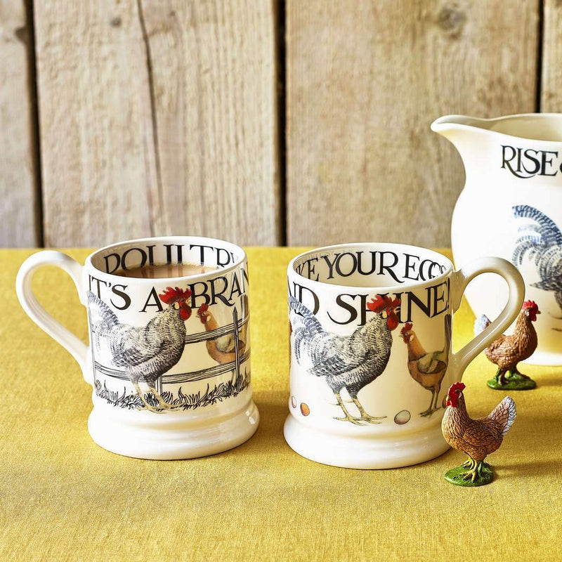 Rise & Shine Set of 2 1/2 Pint Mugs - croftonandhall