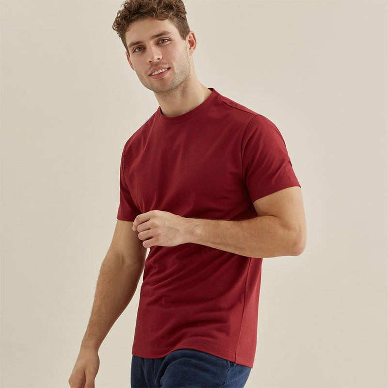 Relax T-Shirt - Red Stripe - croftonandhall