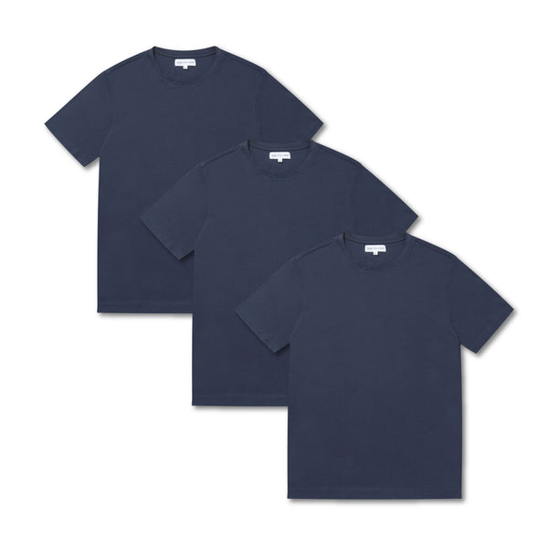 3 Pack Relax Tee - Navy - Crofton & Hall