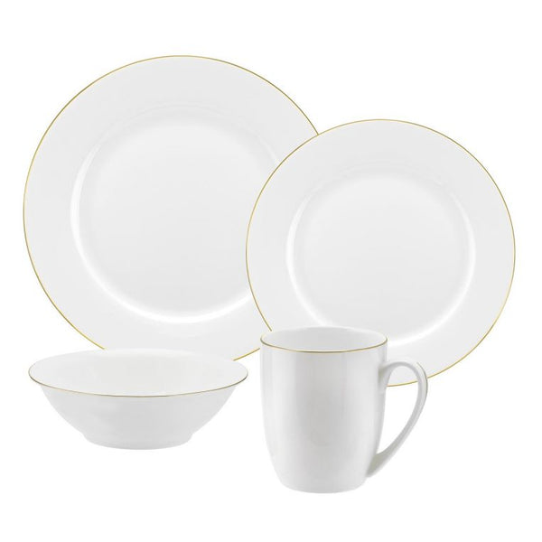 Serendipity Gold 16 Piece Set - Crofton & Hall
