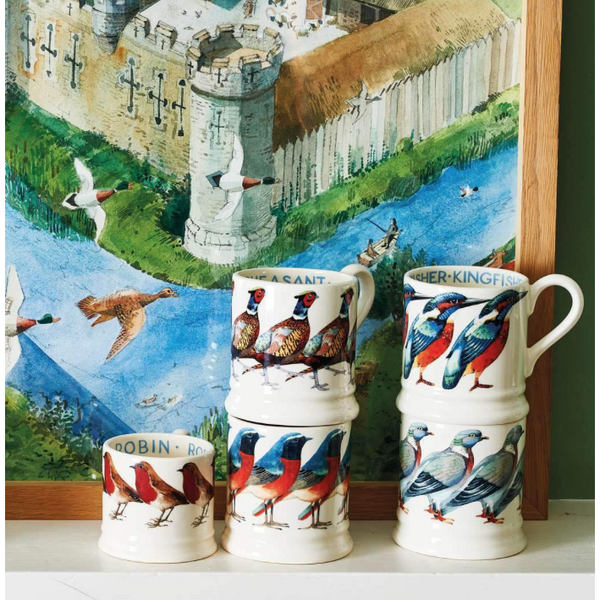 Birds Pheasant 1/2 Pint Mug - Crofton & Hall