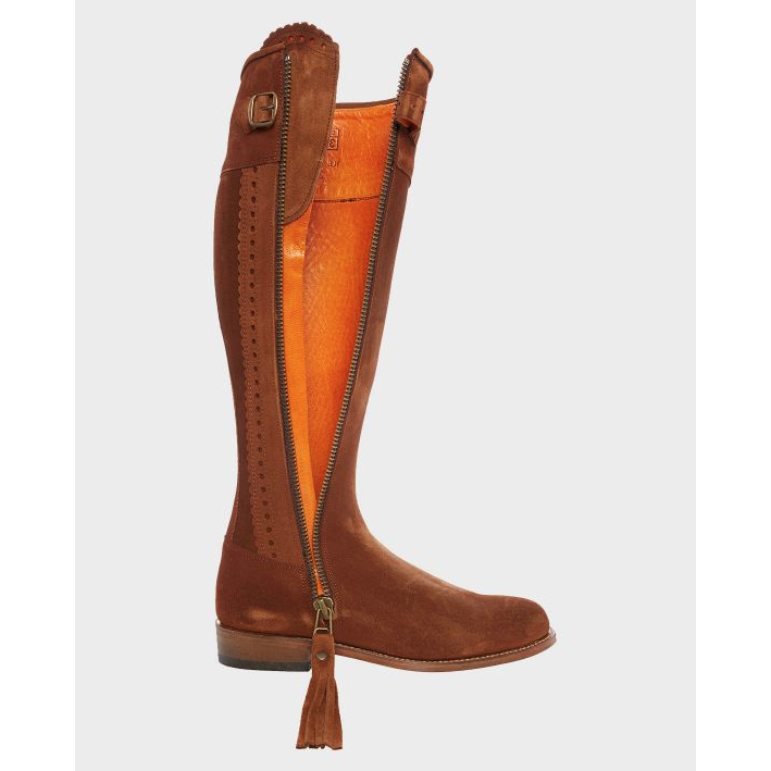 Spanish Boots in Whiskey Suede - croftonandhall