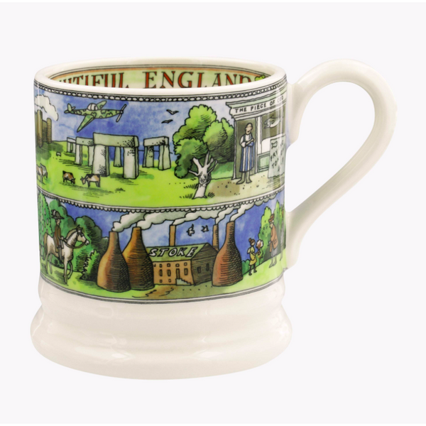 Beautiful England 1/2 Pint Mug - Crofton & Hall