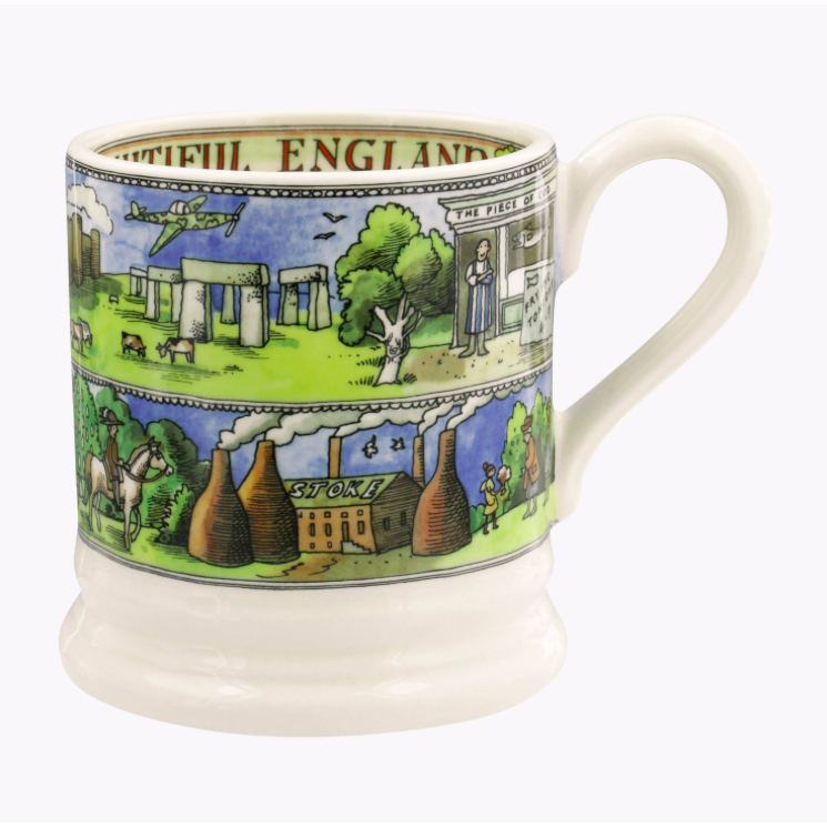 Beautiful England 1/2 Pint Mug - croftonandhall