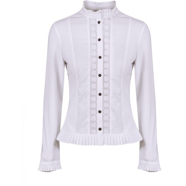 Phoebe Shirt in White - croftonandhall
