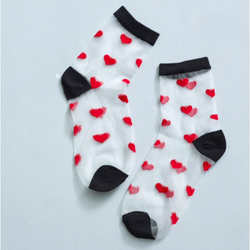 Romantic Hearts Pop Socks 2 Pack - croftonandhall