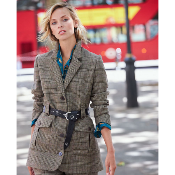 Belted Jacket | Ivy Green - Crofton & Hall