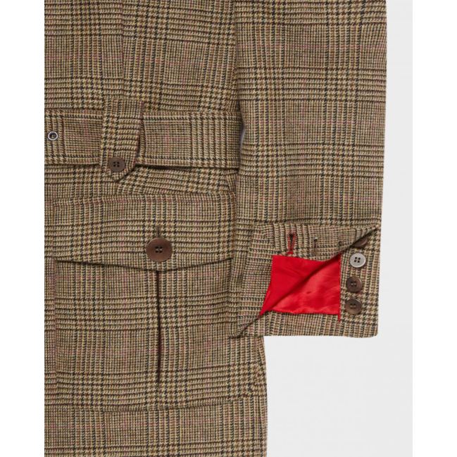 Belted Jacket | Ivy Green - croftonandhall