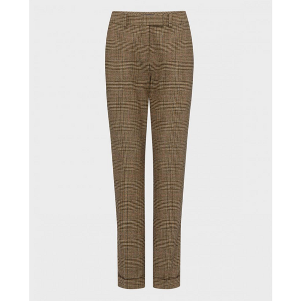 Turn Up Trousers | Ivy Green - croftonandhall