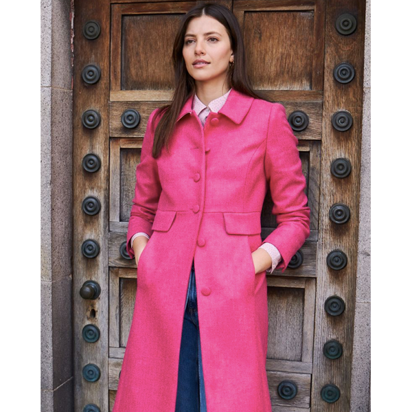 Warwick Coat | Strawberry - Crofton & Hall