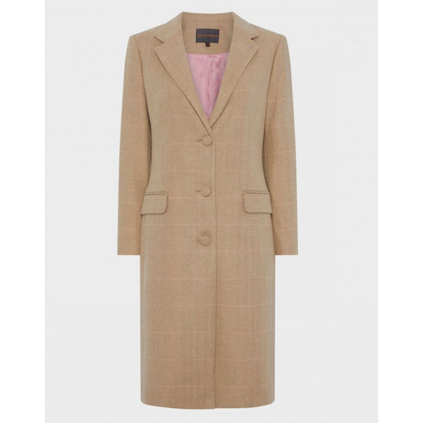 Drayton Coat | Camel Peach - Crofton & Hall