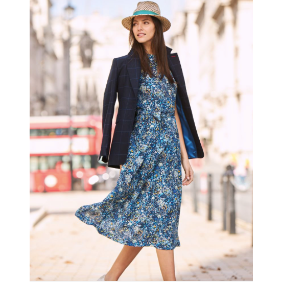 Capped Sleeve Dress | Liberty Fabric - Crofton & Hall