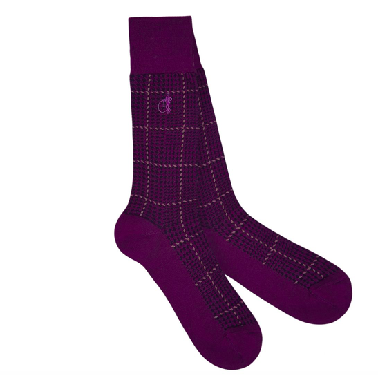 Ottaway Sock in Purple - croftonandhall