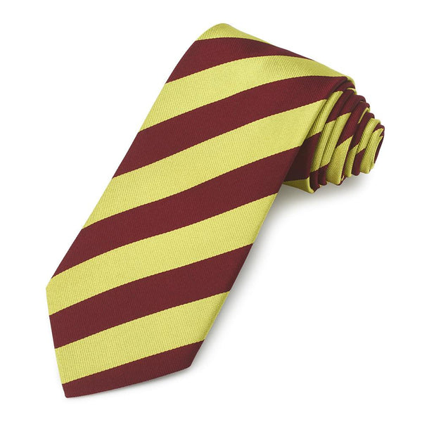 The Kings Royal Hussars Three-Fold Silk Reppe Tie