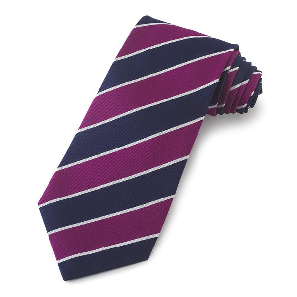 Balliol College Oxford Three-Fold Silk Reppe Tie - Crofton & Hall